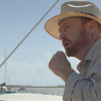 Ludovic Pinette en tournage au Mexique